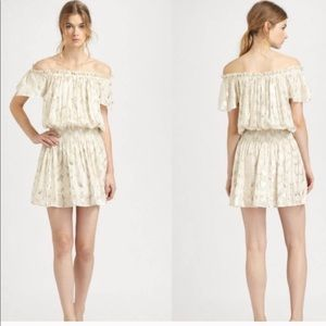 Rachel Zoe Frankie metallic dress